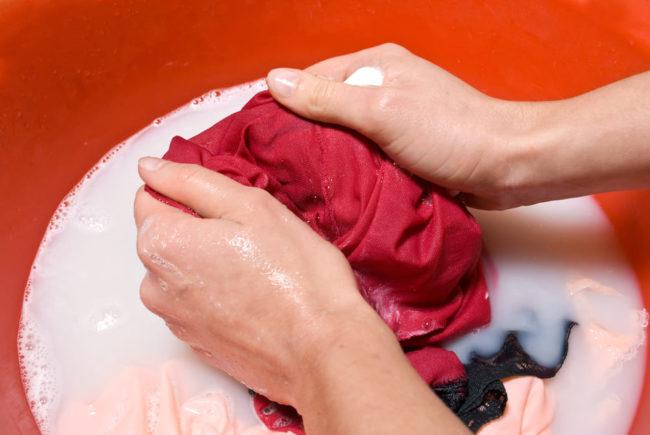 как восстановить цвет ткани