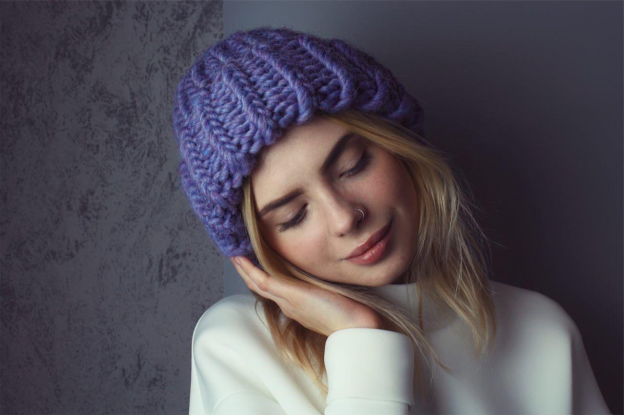 шапка из шерсти мериноса