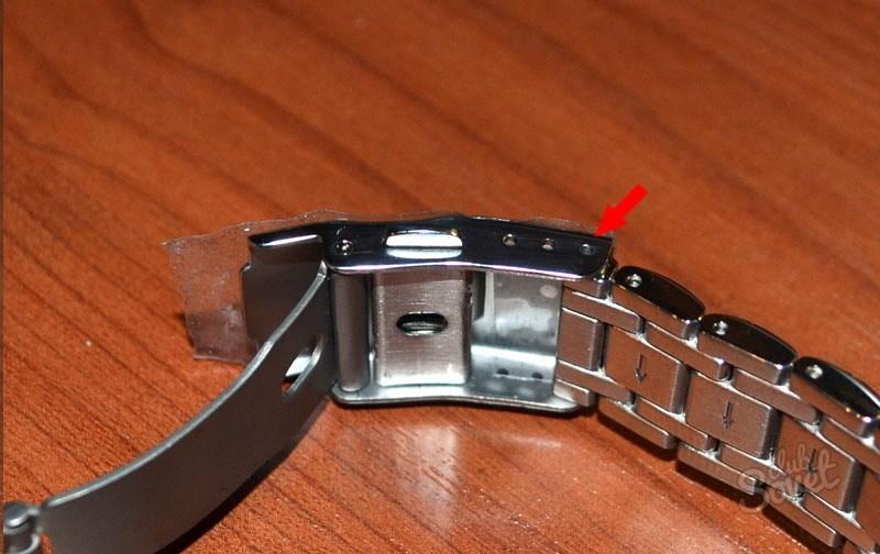 как уменьшить браслет