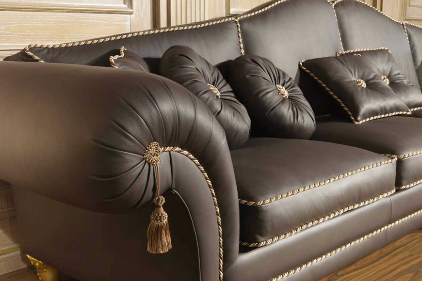 Замена обивки мебели
