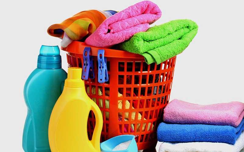 Фото: Для стирки полотенец лучше использовать жидкий порошок