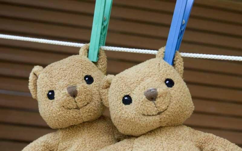 Фото: Лучше всего сушить детские вещи на свежем воздухе