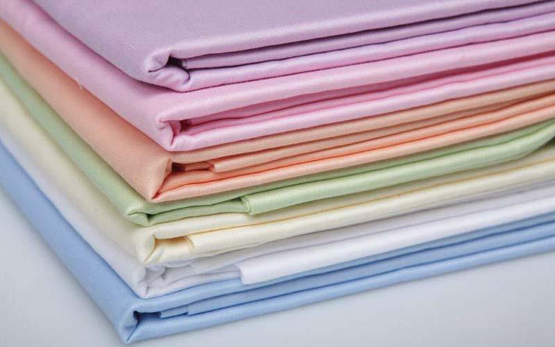 Фото: Сатиновая ткань различных цветов