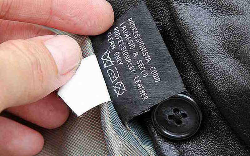 Фото: Пиджак из кожи нельзя мочить