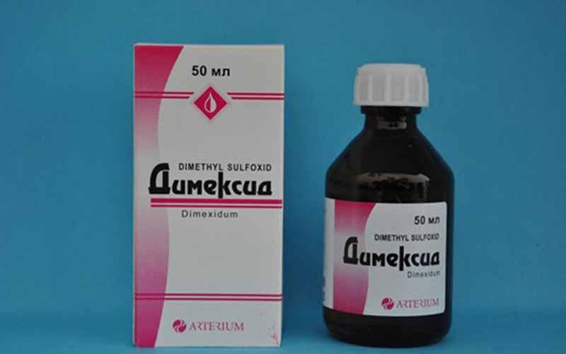 Фото: Димексид применяется для удаления следов герметика с кожи