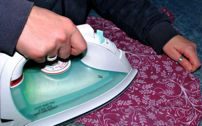 Фото: Не превышайте температуру обработки и используйте прокладочную ткань