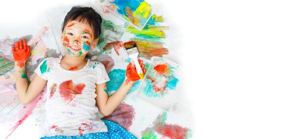 Как вывести пятно от краски с одежды